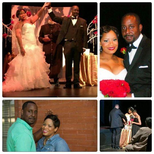1st Wedding Client