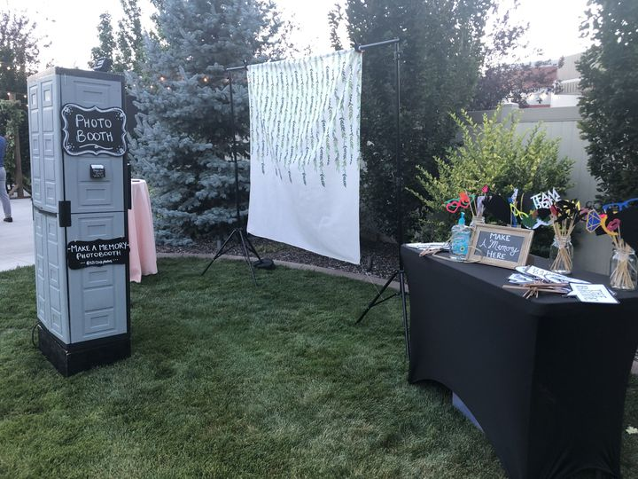 Photo Booth Open Set Up