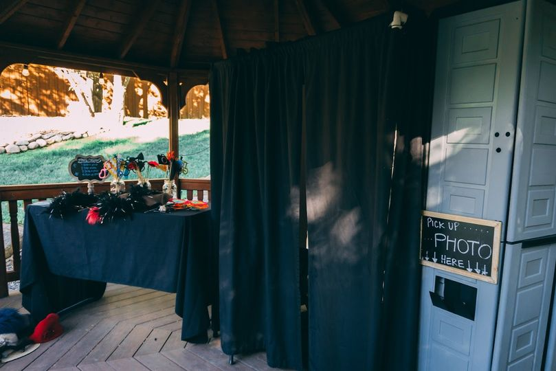 Photo Booth Set Up