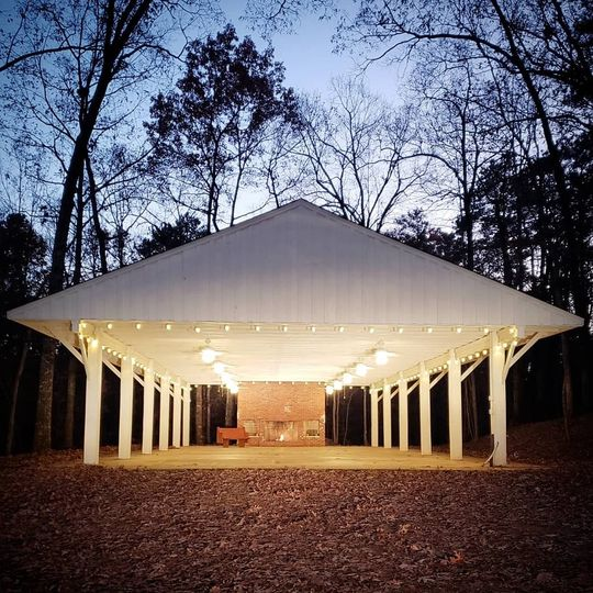 Group pavilion