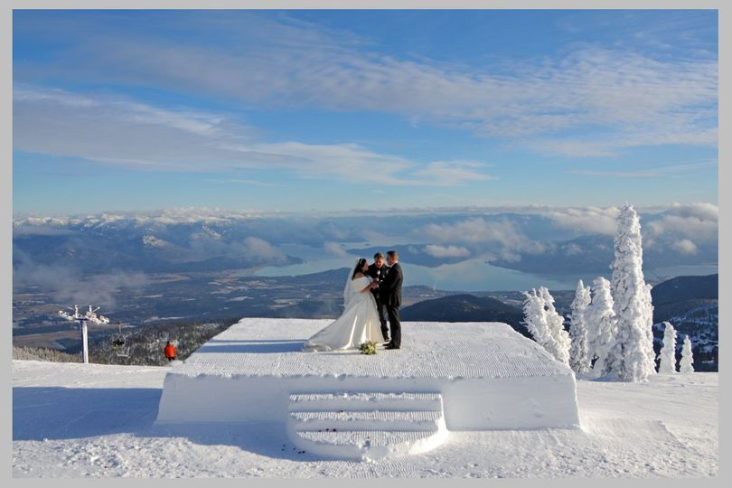 Winter Weddings at the Summit