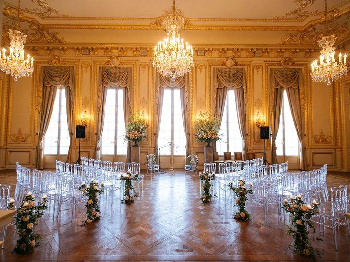 Luxury ceremony in paris