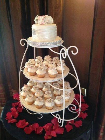 wedding cupcake towe