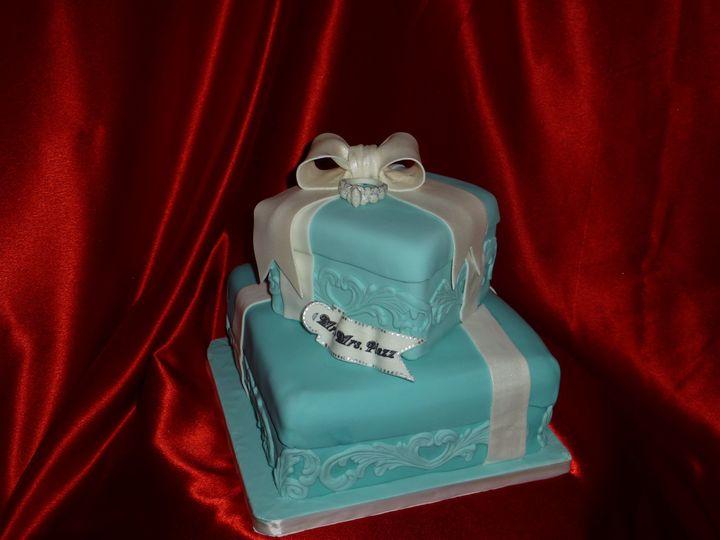 tiffany box wedding cak