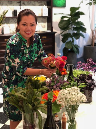 Edible flower workshop