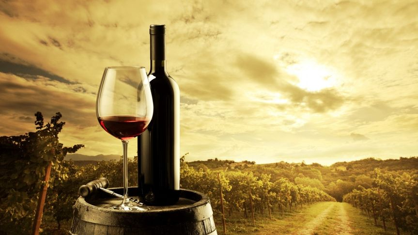 red wine bottle and glass hd wallpaper 1366x768 co
