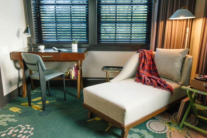 Cream sofas