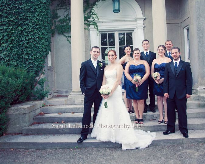 Bride and bridal party hair by Rae of Lyte BeautyPhoto courtesy of Sarah Lefrancois Photography