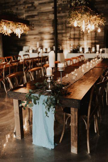 Farm wood tables