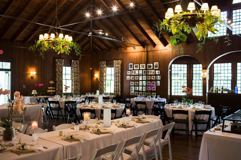 June wedding in main dinning