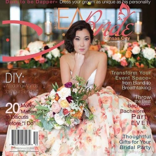 Featured: EA Bride Magazine