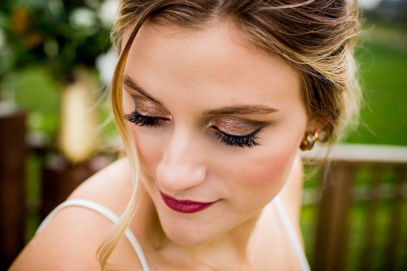 Eyelash work