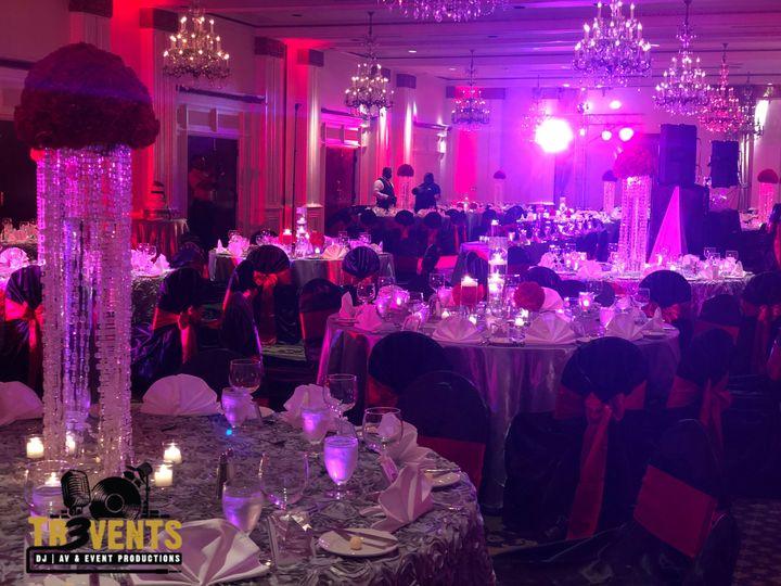 Hilton Wedding Reception Event Production