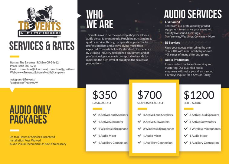 Audio Packages