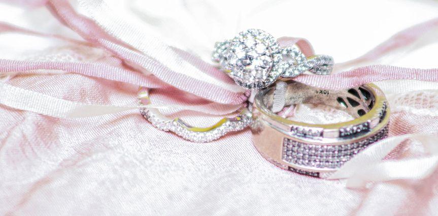 Wedding Ring Flat Lay