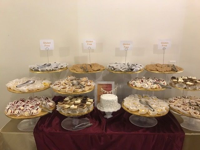Sweets table buffet