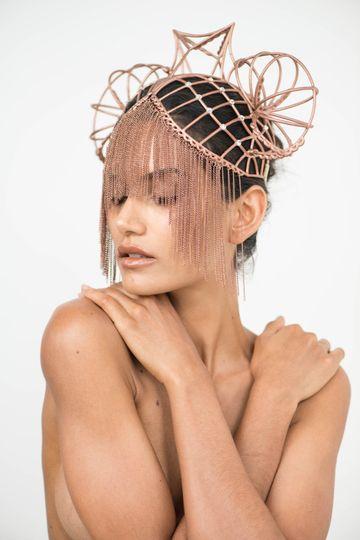 Unique wedding headpiece