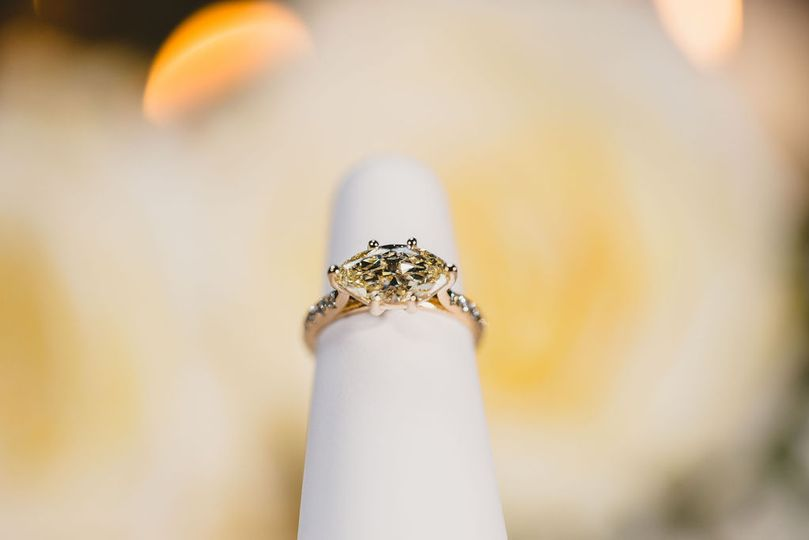 East West Marquise Ring