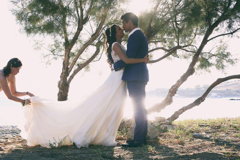 Wedding in Kea island