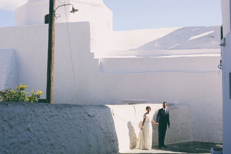 French wedding in Folegandros