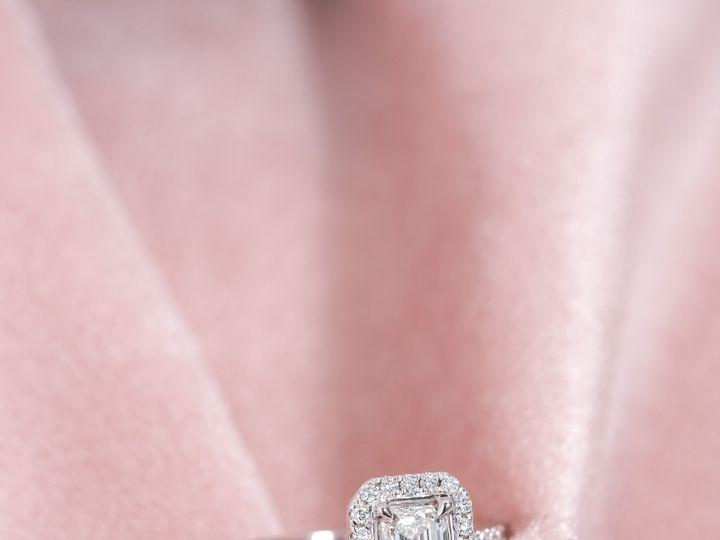 Tmx Emerald Halo Ring 51 360439 1569611810 Huntington Beach wedding jewelry