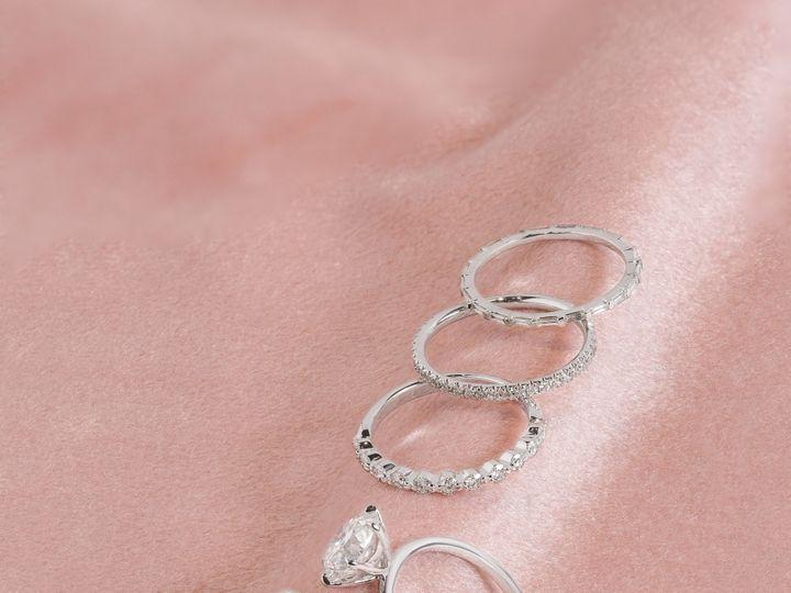 Tmx Ring Stack Cindie 51 360439 1569611774 Huntington Beach wedding jewelry