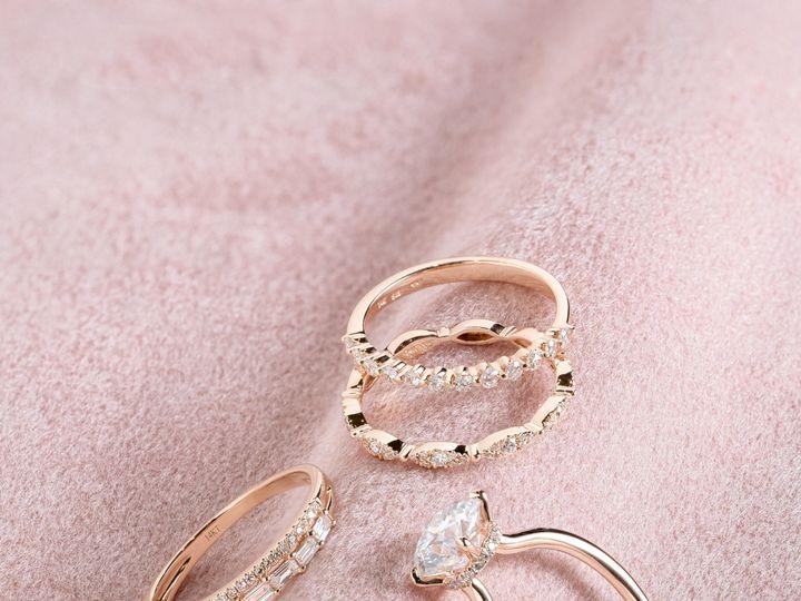 Tmx Ring Stack Pink 51 360439 1569613221 Huntington Beach wedding jewelry