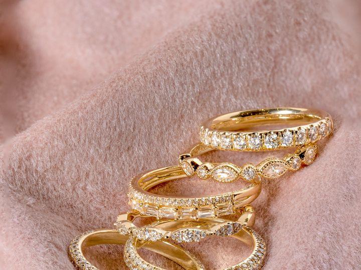Tmx Yellow Gold Stack 51 360439 1569613238 Huntington Beach wedding jewelry