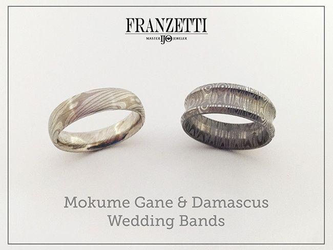 Tmx 1467315478135 Mokume Damascus Bands Austin wedding jewelry