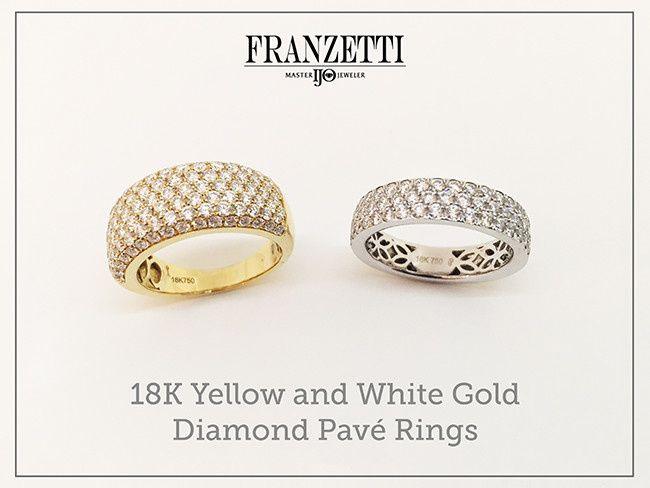 Tmx 1467315766023 Fj Ladies Pave Rings Austin wedding jewelry