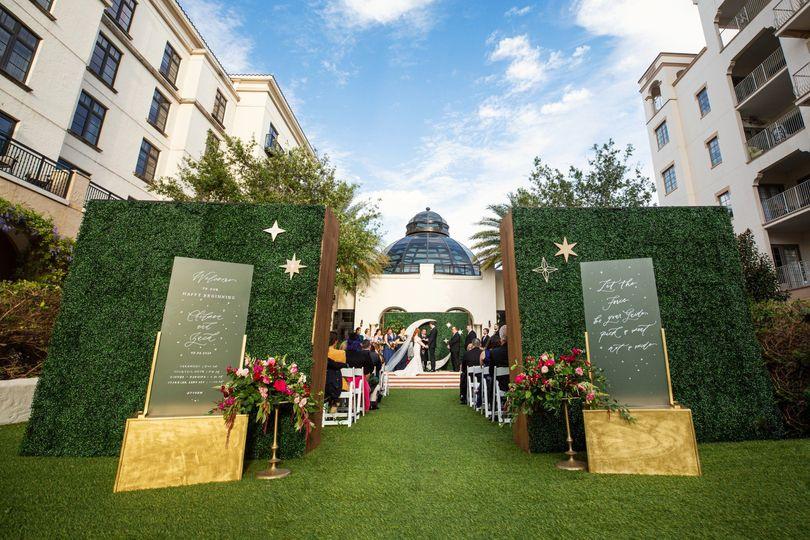Alfond Inn Wedding Ceremony