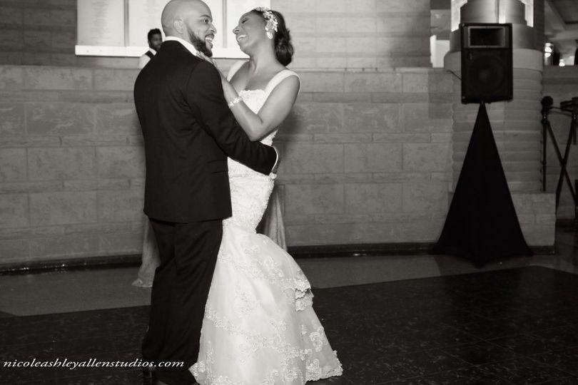 Graham Wedding Bride and Groom