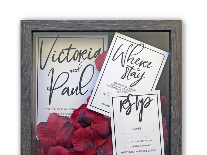 Tmx Bw 51 1951439 158293247312496 Cleveland, OH wedding invitation