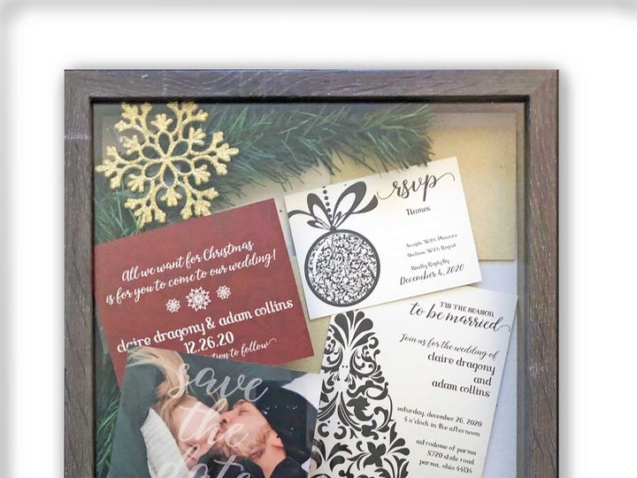 Tmx Christmas 51 1951439 158293247336483 Cleveland, OH wedding invitation