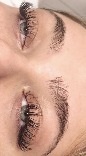 Expertly applied lashes