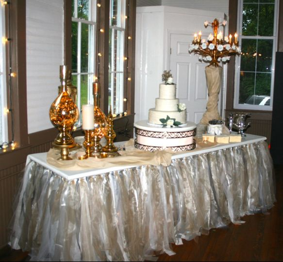 This was a summer reception held at a historic school house. We love this venue...   it is a...