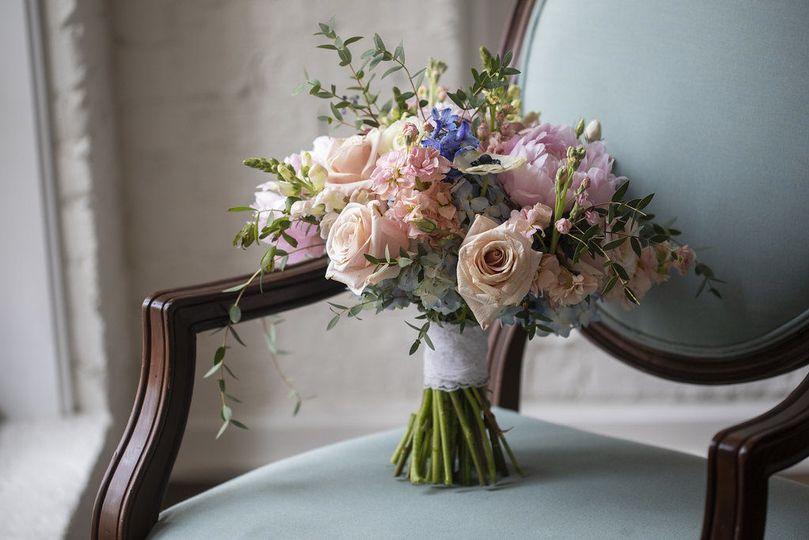 Image by Dustin Lewis. Vivid Expressions LLC custom Design Bridal Bouquet.  Event design, flowers,...