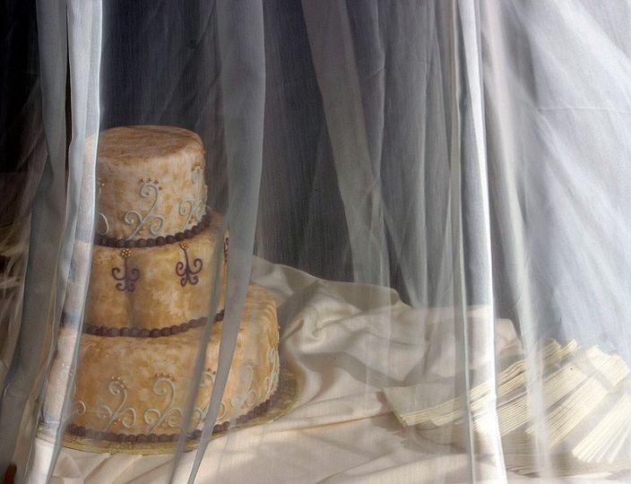 Wedding cake in Portland, Oregon