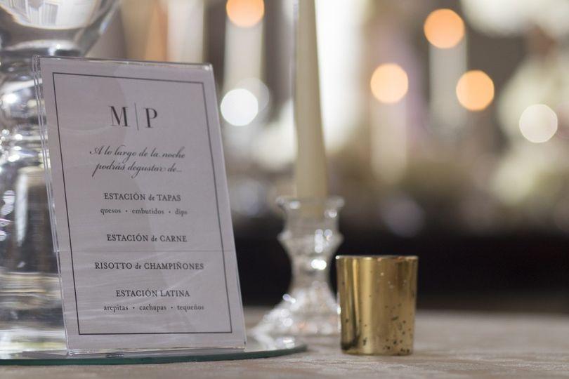M & P wedding