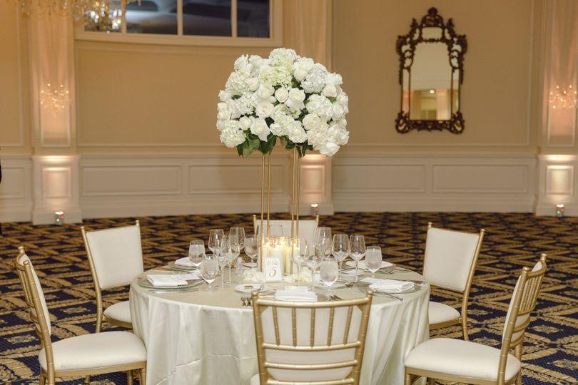 Elegant set up