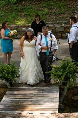 Lovely outdoor wedding in NC