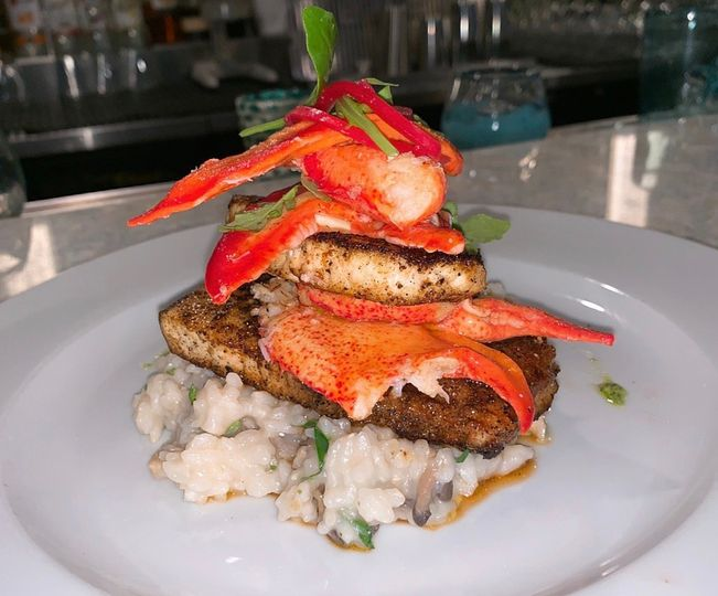 Swordfish with Maine Lobster