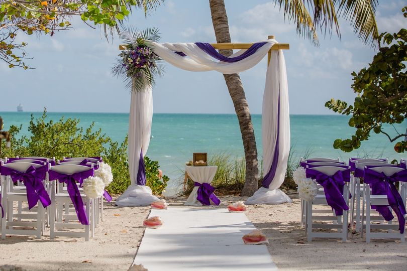 Fort Zachary wedding