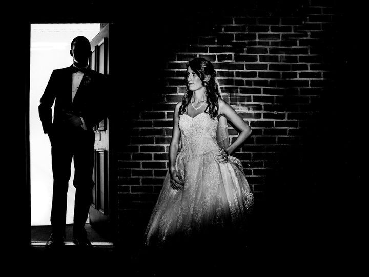Tmx 1509338639915 Moody Bw Photo Of A Bride And Groom  Rochester, NH wedding photography