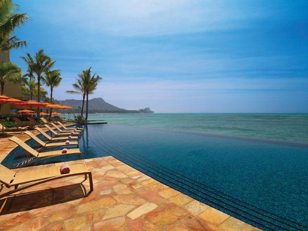 A new infinity pool offers features magnifcent views of Diamond Head and Waikiki Beach.