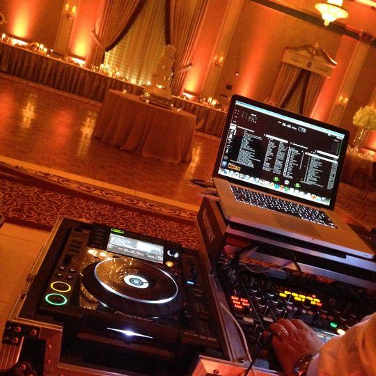 DJ/Cake/Head Table