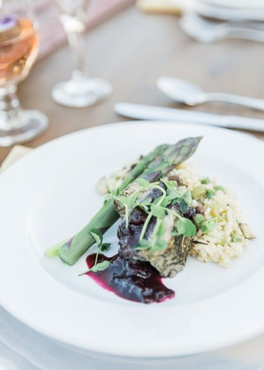 MT Beef and Spring Risotto