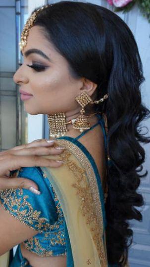 Bridal hair + makeup