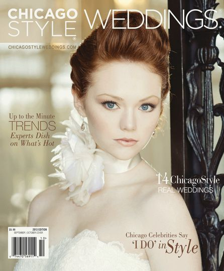 chicago style weddings oct nov 2013 cover