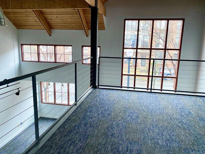 Upper loft/mezzanine